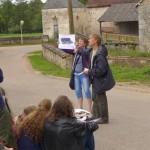 Les guides conférenciers en action CC BY PAH Auxois